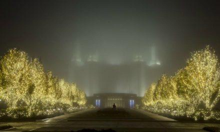 Élder Stevenson e embaixador do Japão abrem festival das luzes em Whashington D.C.