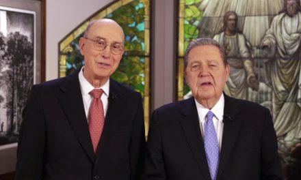 Cara a Cara com o Presidente Eyring e o Élder Holland