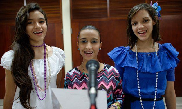 Ser uma líder das moças que fala ao coração das jovens