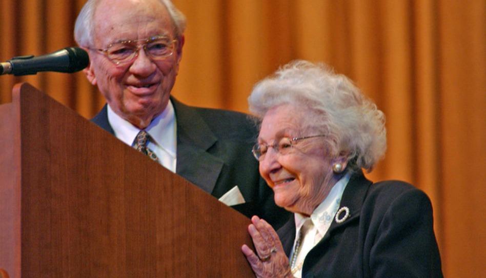 Gordon e Marjorie Pay Hinckley - conselho sobre casamentos - se casaram com somente 150 dólares