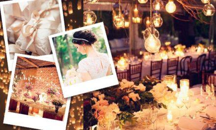 Três vestidos de noiva lindos e modestos