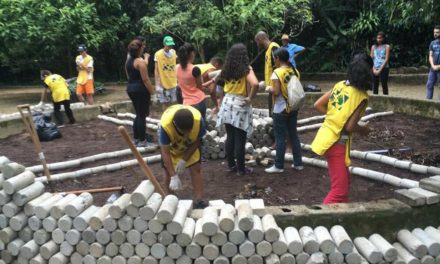 Recuperação do Parque Nabuco com a Ajuda dos voluntários Mãos que Ajudam