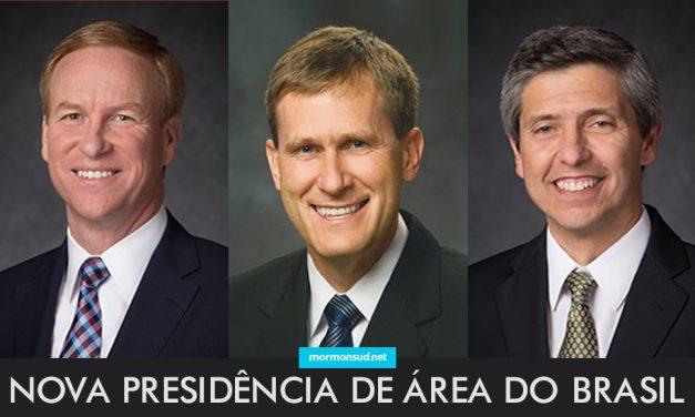 Primeira Presidência anuncia mudanças na presidência de área do Brasil em 2017