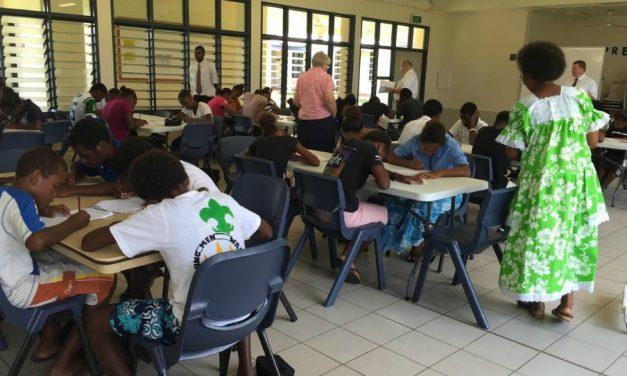 Programa piloto da Igreja traz educação à jovens e crianças em ilhas distantes do pacífico