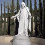 Cristo estátua templo da França Jardim - fotos oficiais