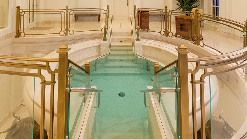 Batistério do templo de Paris França