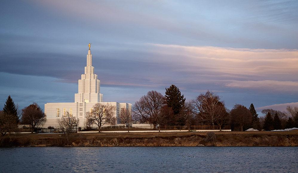 Novas fotos do templo de Idaho Falls foram divulgadas