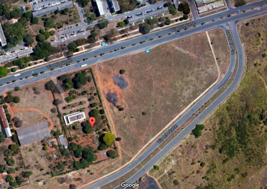 Veja o Local que será Construído o Templo de Brasília