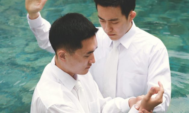 Por que preciso ser batizado novamente caso decida ser mórmon?