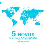 5 novos templos - Brasília
