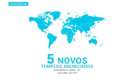 Presidente Monson anuncia a construção do templo de Brasília, e mais 4 outros templos!