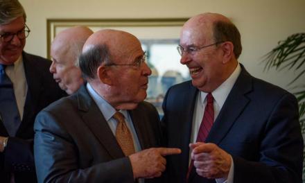 Líderes Judeus Recebem Apóstolos Mórmons na Cidade de Nova York