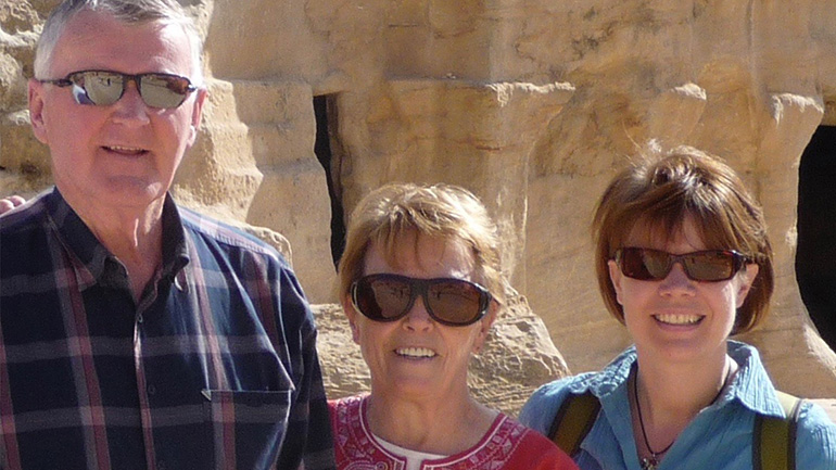 Visita Jordânia e Jerusalém