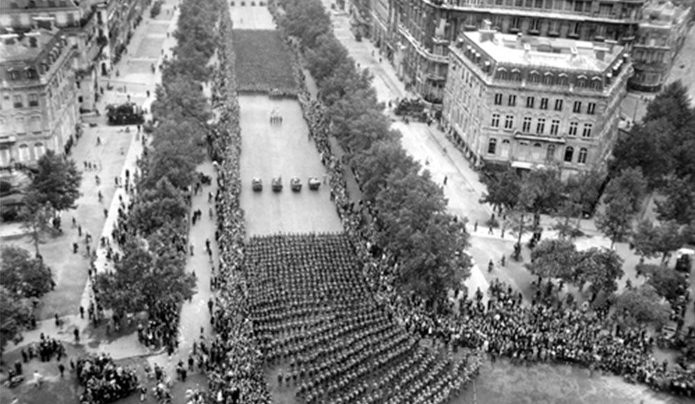 A mulher que manteve o ramo de Paris unido durante a Segunda Guerra Mundial