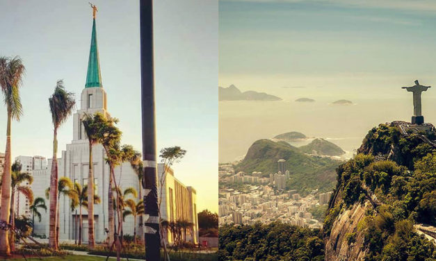 Novas fotos da construção do templo do Rio de Janeiro