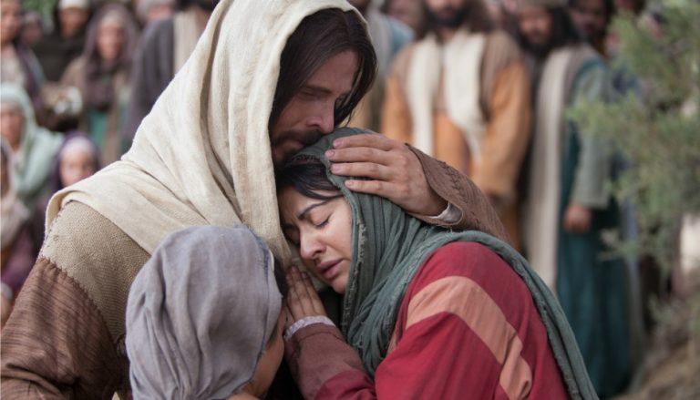 Jesus Maria e Marta - a vida não é justa, e não foi para o Salvador quando Ele veio a Terra. Jesus sofreu a maior injustiça. Salvação