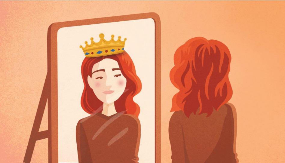 Mulher mediana - heroina, princesa, filha de um rei