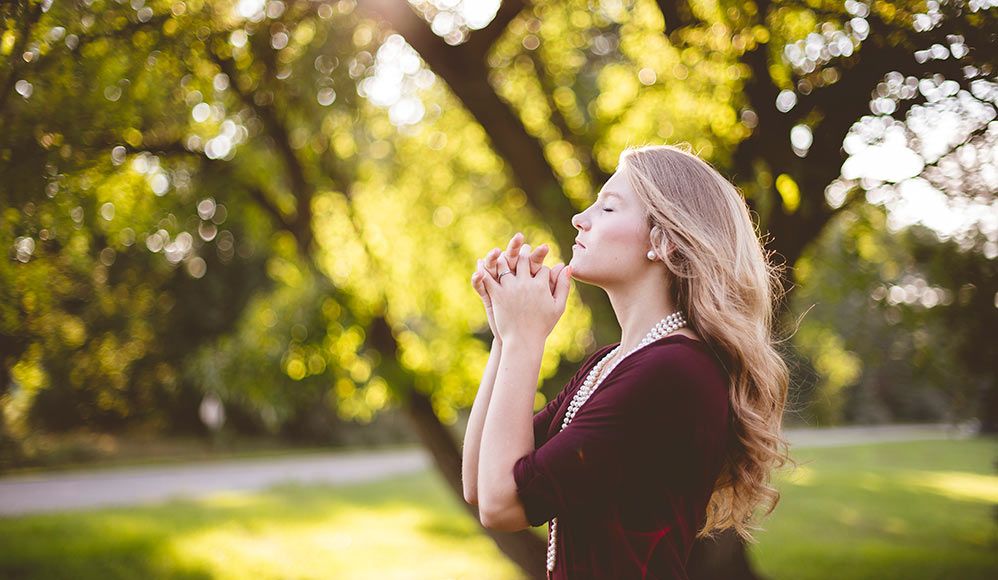 a oração, pergunte novamente