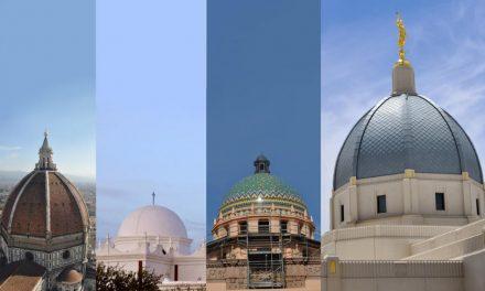 O mais novo templo Mórmon apresenta uma redoma, não uma torre