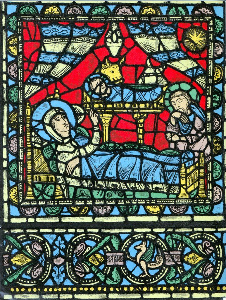 A Natividade, Catedral de Chartres