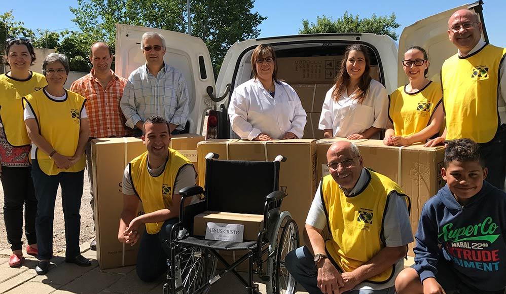 Mãos que Ajudam: Mórmons Ajudam Vítimas dos Incêndios em Portugal