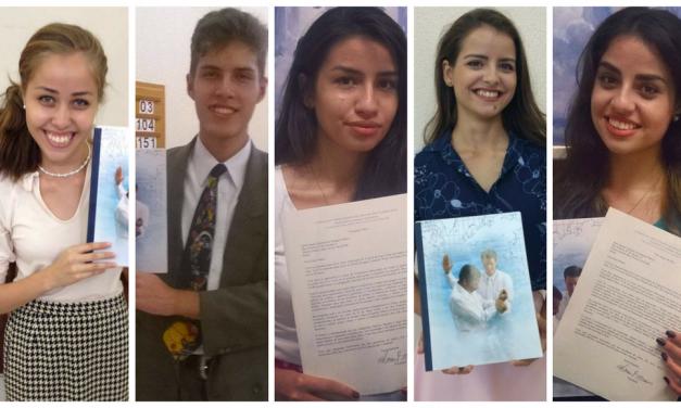 Uma Família Missionária: 5 filhos servindo missão simultaneamente!