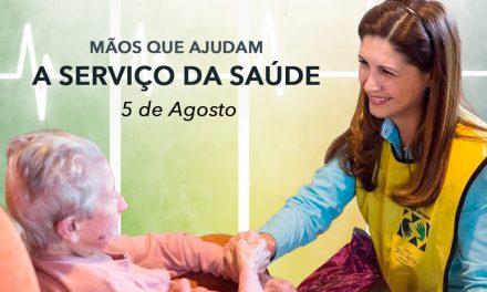 Mãos Que Ajudam a Serviço da Saúde – Mais de 130 Mil Voluntários em Todo o Brasil
