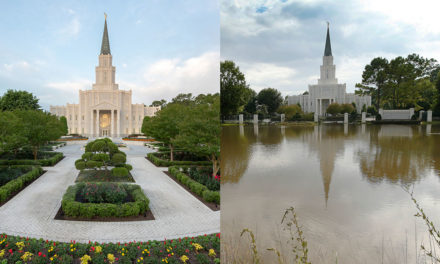 Rededicado o templo de Houston, que foi atingido pela enchente em 2017