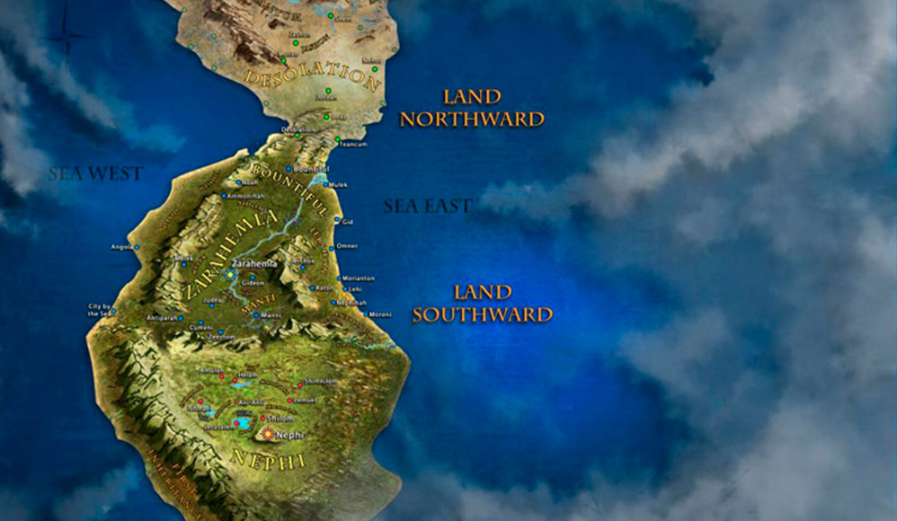 Um App Que Explora a Geografia do Livro de Mórmon