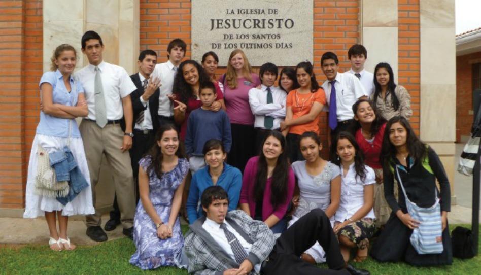 Membros no Paraguai - muitos são descendentes de tribos antigas