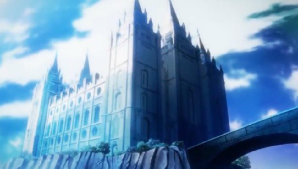 Templo de Salt Lake Aparece em Anime Japonês
