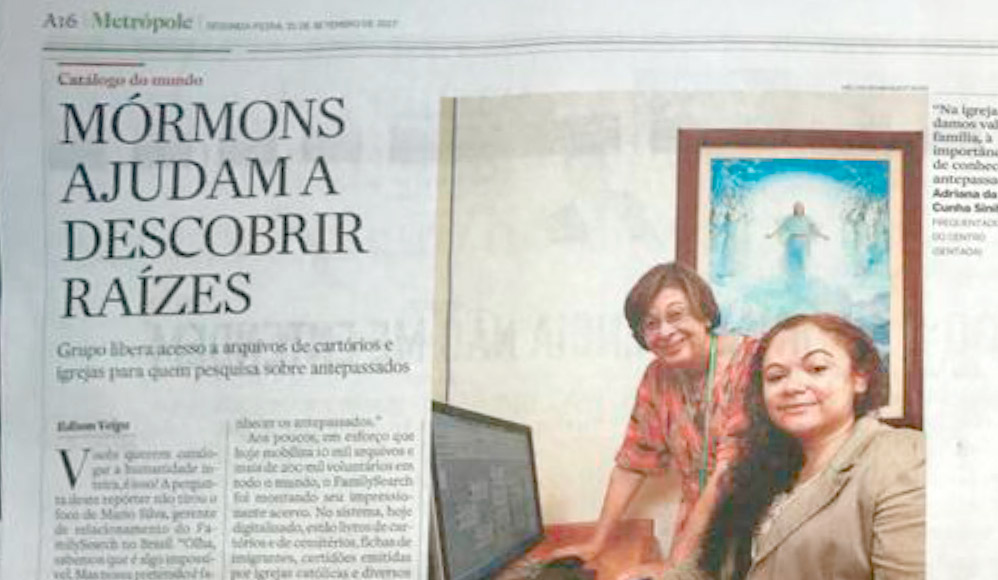 Jornal O Estado de São Paulo Publica Matéria Sobre História da Família