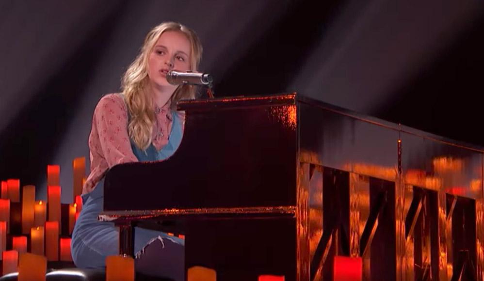 Jovem Mórmon, Evie Clair, impressiona juízes de America's Got Talent