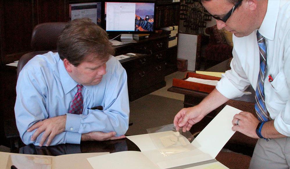 Departamento de História da Igreja Adquire Novos Fragmentos do Manuscrito Original do Livro de Mórmon
