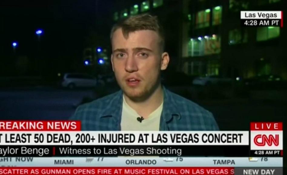 """""""Tenho uma firme crença em Deus Agora"""": Sobrevivente do Massacre em Las Vegas Conta Sua Experiência"""