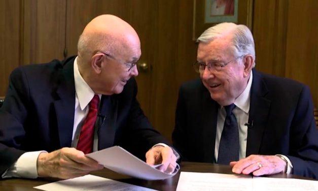 O Élder Oaks e o Élder Ballard Falam Sobre o Próximo Cara a Cara em Novo Vídeo