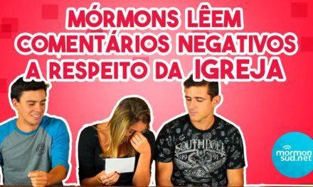 Vídeo: Mórmons Lêem Comentários Negativos a Respeito da Igreja