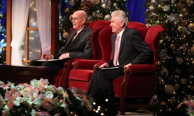 Devocional de Natal da Primeira Presidência Comemora o Nascimento de Cristo