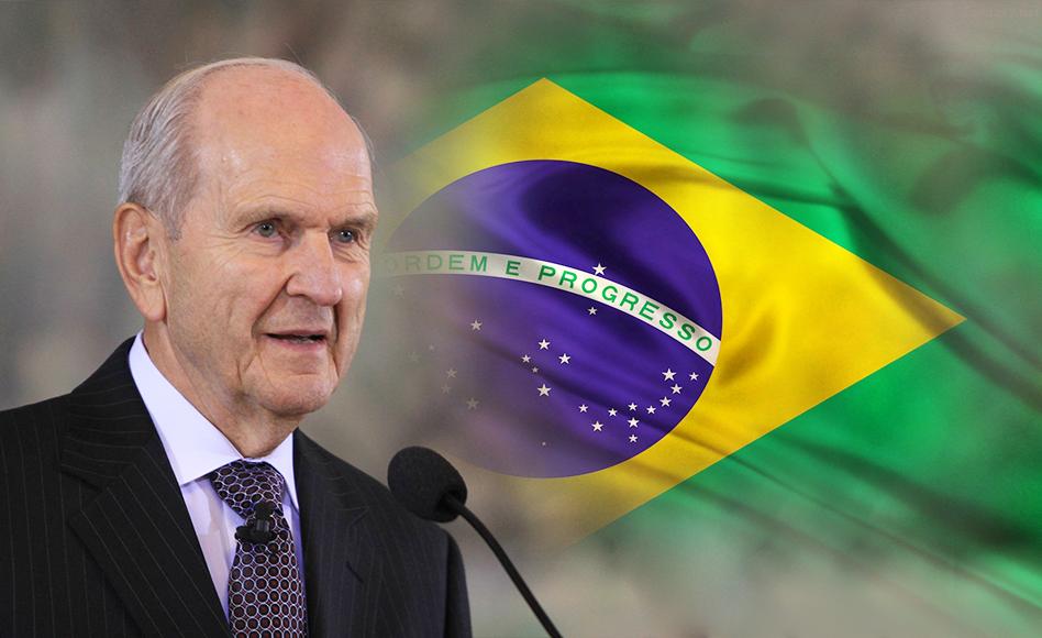 Detalhes sobre a visita do Presidente Russell M. Nelson ao Brasil