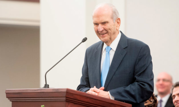 O discurso de sacramental do Presidente Nelson é um modelo de como devemos discursar