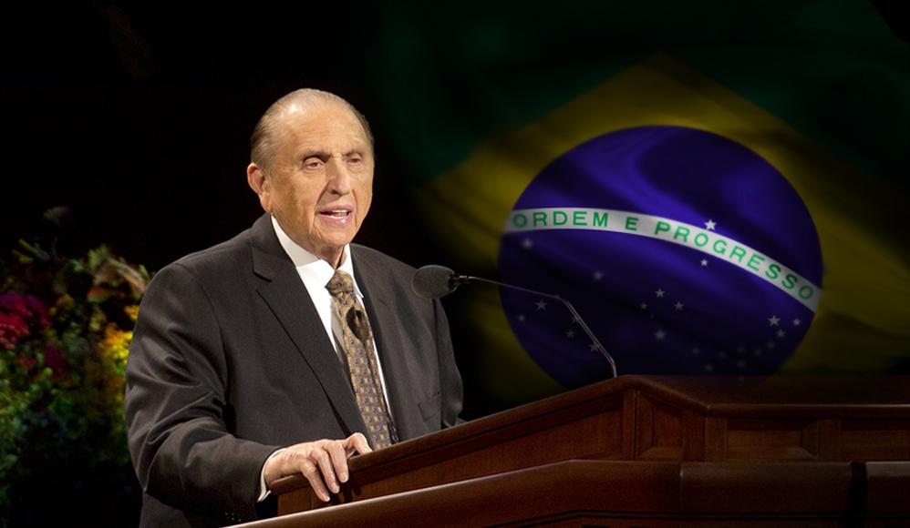 O Ministério do Presidente Monson abençoou o Brasil