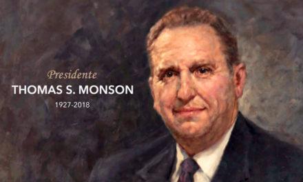 Falece o Presidente Thomas S. Monson, Nosso Amado Profeta