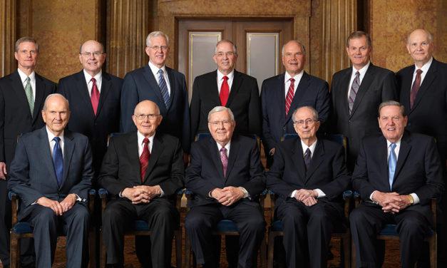 Declaração do Quórum dos Doze Apóstolos Sobre o Falecimento do Profeta