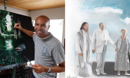 O Artista Colombiano Autor do Desenho Viral do Presidente Monson