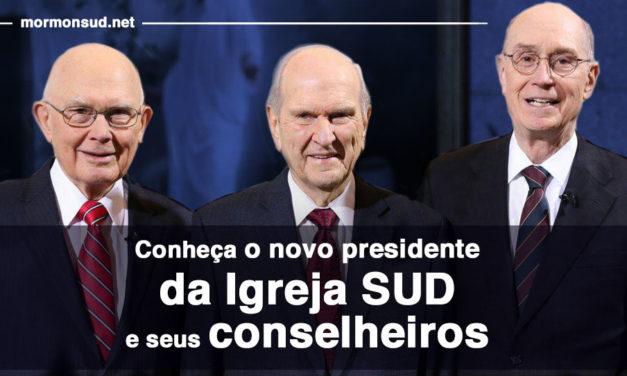 Conheça o novo presidente da Igreja SUD e seus conselheiros