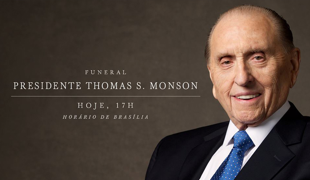 Ao Vivo – Funeral do Presidente Thomas S. Monson