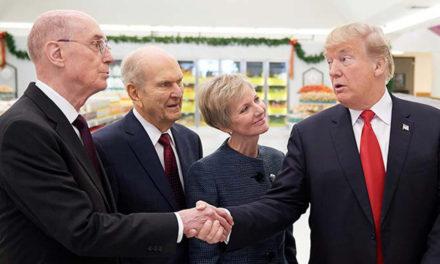 Presidente Donald Trump Expressa Condolências Pelo Falecimento do Presidente Monson