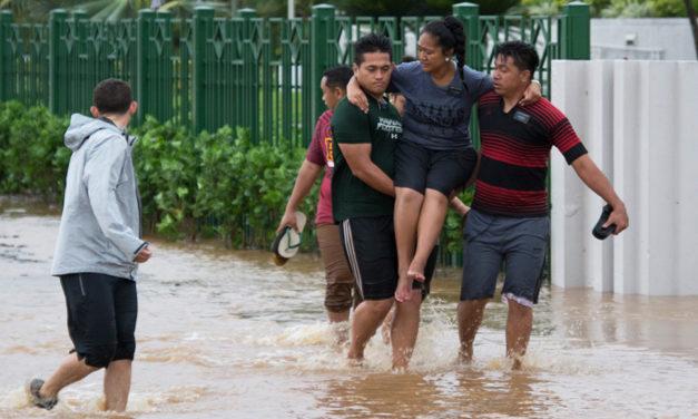 Mórmons prestam auxílio às vítimas do ciclone Gita nas ilhas da Polinésia