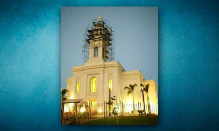 Novas fotos da construção do templo de Fortaleza