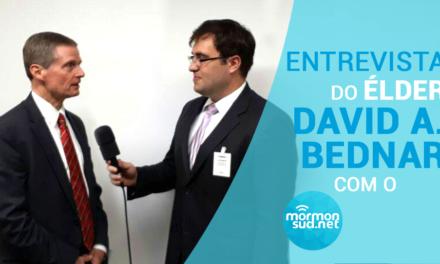 Entrevista do Élder David A. Bednar com o MormonSUD.net